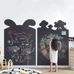 Hexis Blackboard Черная меловая плёнка - фото №4