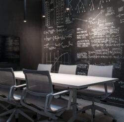 Hexis Blackboard Черная меловая плёнка - фото №3